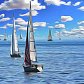 Sail Day by Harry Warrick