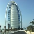 Sail-shaped Silhouette Of Burj Al Arab Jumeirah  by Chris Hood