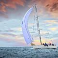 Sailboat 1 by Endre Balogh