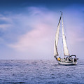 Sailboat 4 by Endre Balogh