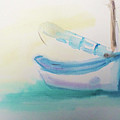 Sailboat At Rest 4 by Stephen Parulski