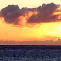 Sailboat At Sunset by Bethany Morrow