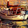 Sailboat by Brian Simons