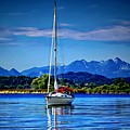 Sailboat by Dawn Van Doorn
