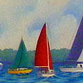Sailboat Fiesta II by Hugh Harris