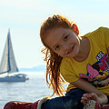 Sailboat Girl by Travis Rogers