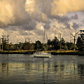 Sailboat In Georgetown by TJ Baccari