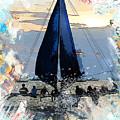 Sailboat - Inspirations by Wilko Van de Kamp