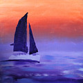 Sailboat Large 2015 by Candy Bott
