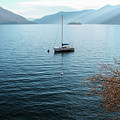 Sailboat On Lake Maggiore by Kinsey Watson