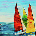 Sailboat Race by Kevin Brown