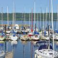 Sailboat Reflections by Tom Reynen