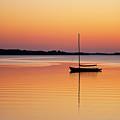 Sailboat Sunset by John Greim