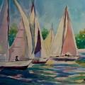 Sailboats by Bella Altman