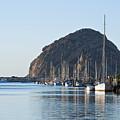 Sailboats In Morro Bay by Bill Brennan - Printscapes