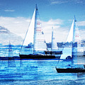 Sailboats by MW Robbins