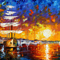 Sailer by Leonid Afremov