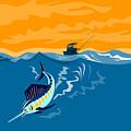 Sailfish Fishing Boat by Aloysius Patrimonio