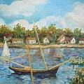 Sailing 1 by Min Wang