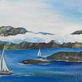 Sailing 2 by Min Wang
