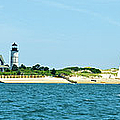 Sailing Around Barnstable Harbor by Charles Harden