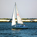 Sailing At Long Beach Island by John Rizzuto