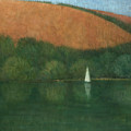 Sailing At Trelissick by Steve Mitchell