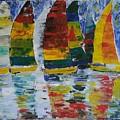 Sailing Away by Tayyaba Hafeez