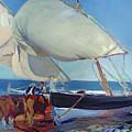 Sailing Boats by Joaquin Sorolla y Bastida