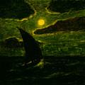 Sailing By Moonlight by Albert Pinkham Ryder