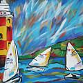 Sailing by Caroline Davis