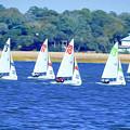 Sailing Charleston Harbor by Teresa A and Preston S Cole Photography