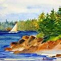Sailing Downeast by Don Whitesel