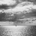 Sailing Dreams Black And White by Allan Van Gasbeck