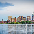 Sailing In Back Bay by Mike Ste Marie