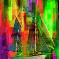 Sailing In The Abstract 2016 by Kathryn Strick