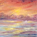 Sailing Into The Sun by Carrie Mayotte