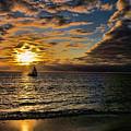 Sailing Into The Sun by Douglas Barnard