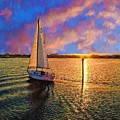 Sailing Into The Sunset by Alice Gipson