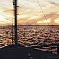Sailing Into Trinadad by Charles McKelroy