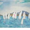 Sailing Lake Washington by Hal Newhouser