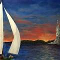 Sailing Liberty by Diane Donati