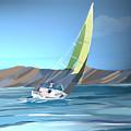 Sailing by Marcelo Romero