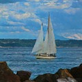 Sailing On A Summer Day by Dan Sproul