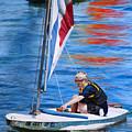 Sailing On Lake Thunderbird by Joshua Martin