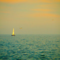 Sailing On The Great Lakes by Mary Machare