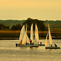 Sailing Practice by Laura Ragland