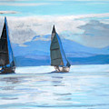 Sailing Race by Teresa Dominici