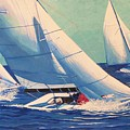 Sailing Regatta by Catalina Decaire