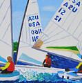 Sailing Regatta by Michael Lee